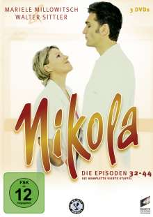 Nikola Box 4, 3 DVDs