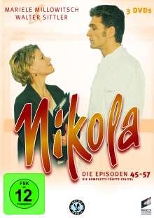 Nikola Box 5, 3 DVDs