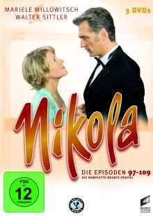 Nikola Box 9 (finale Box), 3 DVDs