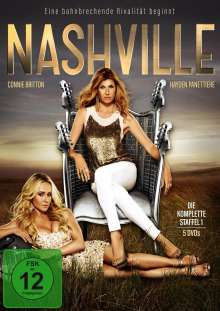 Nashville Staffel 1, 5 DVDs
