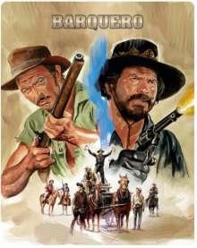 Barquero (Novobox Klassiker Edition) (Blu-ray im Metalpak), Blu-ray Disc