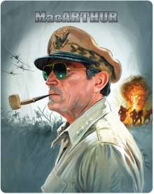 MacArthur - Held des Pazifik (Novobox Klassiker Edition) (Blu-ray im Metalpak), Blu-ray Disc