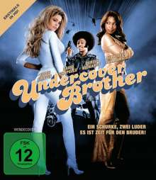 Undercover Brother (Blu-ray), Blu-ray Disc