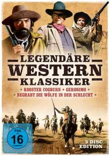 Legendäre Western-Klassiker, 3 DVDs