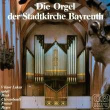 Die Orgel der Stadtkirche Bayreuth, CD
