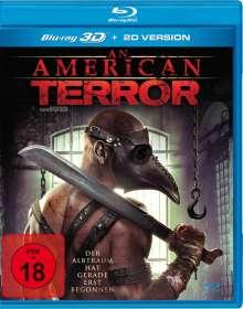 An American Terror (3D & 2D Blu-ray), Blu-ray Disc
