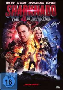 Sharknado 4 - The 4th Awakens, DVD