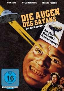 Die Augen des Satans, DVD