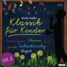 Klassik für Kinder Vol.2, 2 CDs