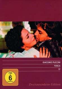 Giacomo Puccini (1858-1924): Tosca (Opernfilm), DVD