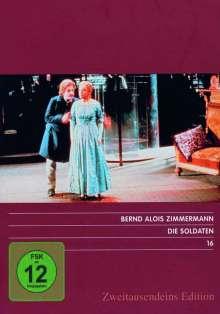 Bernd Alois Zimmermann (1918-1970): Die Soldaten, DVD