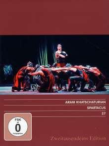 Bolshoi Ballett:Spartacus (A.Khachaturian), DVD