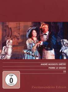 Andre Modeste Gretry (1741-1813): La Jeunesse de Pierre Le Grand, DVD