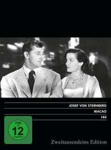 Macao, DVD