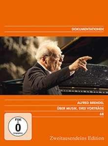 Alfred Brendel - Über Musik (Drei Vorträge), 2 DVDs