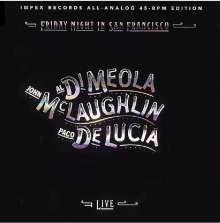 Paco de Lucia, Al Di Meola & John McLaughlin: Friday Night In San Francisco (180g) (Limited Numbered Edition) (45RPM), 2 LPs