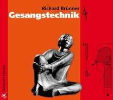Richard Brünner: Gesangstechnik, MP3-CD