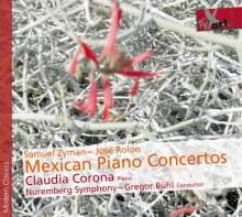 Claudia Corona - Mexican Piano Concertos, CD