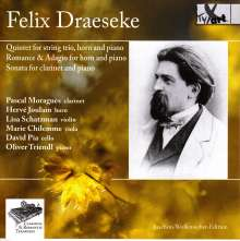 Felix Draeseke (1835-1913): Quintett op.48 für Klavier,Horn,Streichtrio, CD