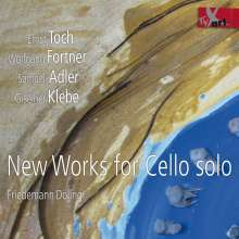 Friedemann Döling - New Works for Cello solo, CD