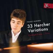 Franz Hummel (geb. 1939): 33 Hercher-Variationen, CD