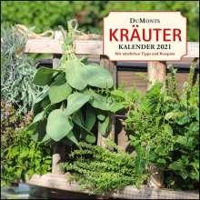 Ursel Bühring: DuMonts Kräuter-Kalender 2021 - Broschürenkalender - mit Texten und Rezepten, Kalender