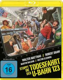 Stoppt die Todesfahrt der U-Bahn 1-2-3 (Blu-ray), Blu-ray Disc