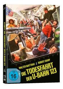 Stoppt die Todesfahrt der U-Bahn 1-2-3 (Blu-ray & DVD im Mediabook), 1 Blu-ray Disc und 1 DVD