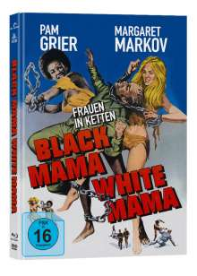 Black Mama, White Mama (Blu-ray & DVD im Mediabook), 1 Blu-ray Disc und 1 DVD