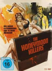 The Honeymoon Killers (Blu-ray & DVD im Mediabook), 1 Blu-ray Disc und 1 DVD