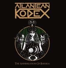 Atlantean Kodex: The Annihilation Of Bavaria: Live 2015 (180g) (Dark Green Vinyl), 2 LPs und 1 DVD