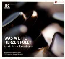 Rascher Saxophone Quartet - Musik für 6 Saxophone, CD