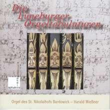 Harald Wießner - Die Lüneburger Orgeltabulaturen, CD
