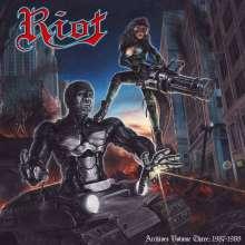 Riot: Archives Volume Three: 1987 - 1988, 1 CD und 1 DVD