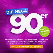 Die Mega 90er: Das Album deines Lebens, 3 CDs