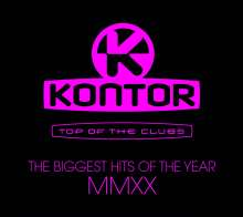 Kontor Top Of The Clubs - The Biggest Hits Of MMXX, 3 CDs