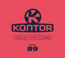 Kontor Top Of The Clubs Vol. 89, 4 CDs
