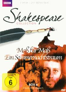 Shakespeare BBC Collection Box 4, 2 DVDs