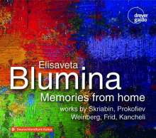 Elisaveta Blumina - Memories from Home, 2 CDs