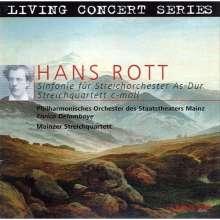 Hans Rott (1858-1884): Symphonie As-Dur für Streichorchester, CD