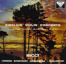 Jean Sibelius (1865-1957): Violinkonzert op.47 (180g), LP