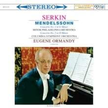 Felix Mendelssohn Bartholdy (1809-1847): Klavierkonzerte Nr.1 & 2 (180g), LP