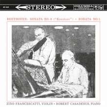 Ludwig van Beethoven (1770-1827): Violinsonaten Nr.1 & 9 (180g), LP