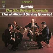 Bela Bartok (1881-1945): Streichquartette Nr.1-6 (180g), 2 LPs