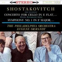 Dmitri Schostakowitsch (1906-1975): Cellokonzert Nr.1 op.107 (180g), LP