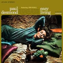 Paul Desmond (1924-1977): Easy Living (180g) (Limited-Edition), LP