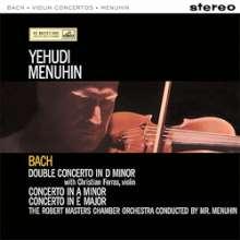 Johann Sebastian Bach (1685-1750): Violinkonzerte BWV 1041-1043 (180g), LP