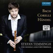 Stefan Temmingh & Ensemble - The OehmsClassics Recordings, 3 CDs