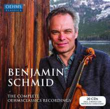 Benjamin Schmid - The Complete Oehms Classical Recordings, 20 CDs