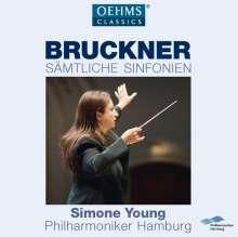 Anton Bruckner (1824-1896): Symphonien Nr.0-9, 12 CDs